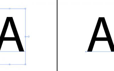 Nie można skalować obiektu w Illustratorze