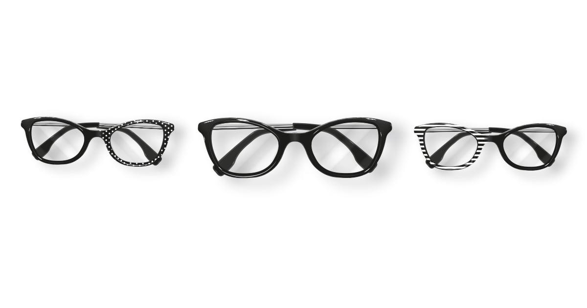 wektorowe okulary w Illustratorze